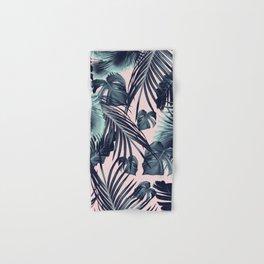 Tropical Jungle Leaves Dream #2 #tropical #decor #art #society6 Hand & Bath Towel