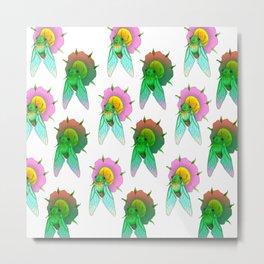 Cicadas Parade Metal Print