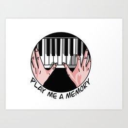 Play Me A Memory Art Print