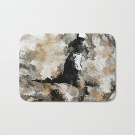 Down and Dirty! - Motocross Racer Bath Mat
