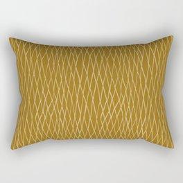 Chain Link in Gold Rectangular Pillow