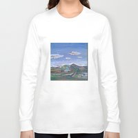 country Long Sleeve T-shirts featuring Country by Thomas Madden