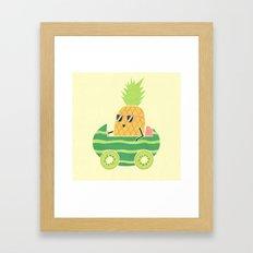 Summer Drive Framed Art Print