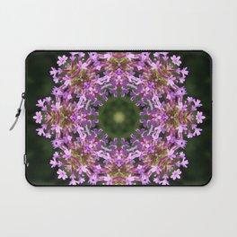 Constellation of Verbena flowers mandala Verbena bonariensis 1829 k2 Laptop Sleeve