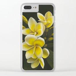 Pua Melia Clear iPhone Case