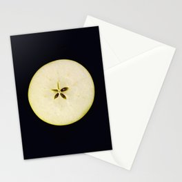 A star of an apple Stationery Cards