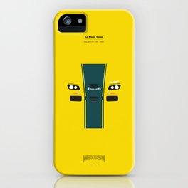 Minimal F1 GTR 1995 Le Mans iPhone Case