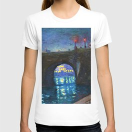 Paris Riverscape - Pont Neuf by Achille-Émile Othon Friesz T-shirt