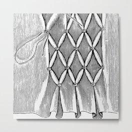 smocking Metal Print
