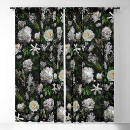 Midnight Garden Moody Florals  Blackout Curtain