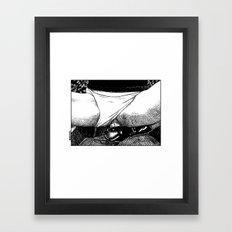 asc 499 - La bonne prise (A strong grip) Framed Art Print