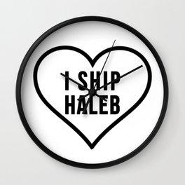 HALEB Wall Clock