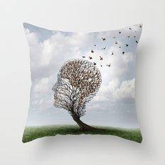 People Tree Throw Pillow