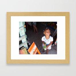 The Lil Drunk Framed Art Print