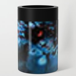 Abstract Black Blue Outer Space Galaxy Cosmos Jodilynpaintings Painting Can Cooler