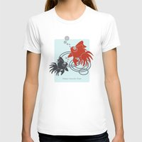 life aquatic T-shirts featuring Happy Aquatic Days by Wind-Up Sprout Design