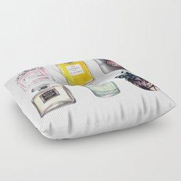 Perfume Collection Floor Pillow