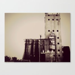 warehouse blues Canvas Print