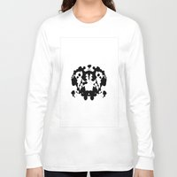 rorschach Long Sleeve T-shirts featuring Rorschach by poindexterity