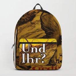 Vintage poster - Austrian War Bonds Backpack
