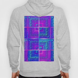 Checkered ultraviolet Hoody