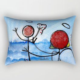 #cagsticks ''The birth of Jesus'' Rectangular Pillow
