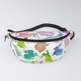 Watercolour Bunnies Fanny Pack