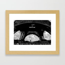 PEOPLE UNDER THE IRON Framed Art Print