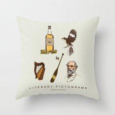 Tequila Mockingbird Throw Pillow