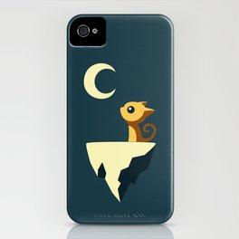 Moon Cat iPhone Case