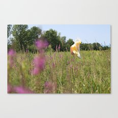 we move lightly Canvas Print