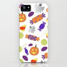 Trick or treat yo' self iPhone Case