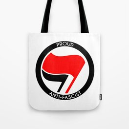 Proud Antifascist Tote Bag