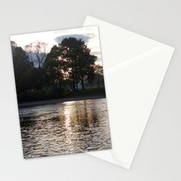 Sunset over River Ness Inverness Stationery Cards