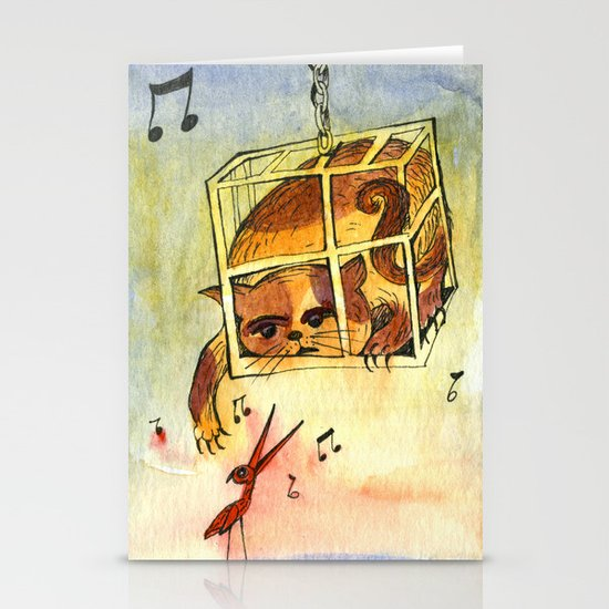Annoying situation Stationery Cards