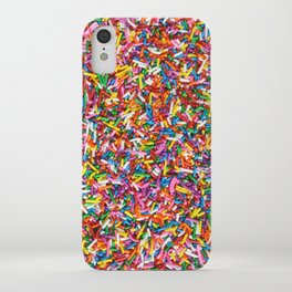 Rainbow Sprinkles Sweet Candy Colorful iPhone Case