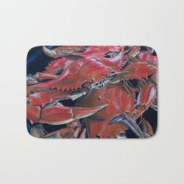 Big Mess of Crabs Bath Mat