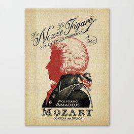LE NOZZE DI FIGARO Canvas Print