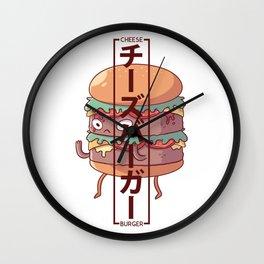 Cheeseburger - Chīzubāgā Wall Clock