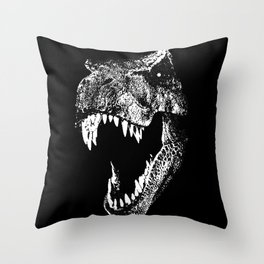 I'm a Dino Fan! Throw Pillow