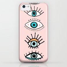 eye illustration print Slim Case iPhone 5c