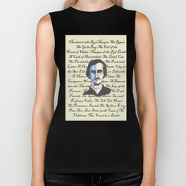 Poe Titles Biker Tank