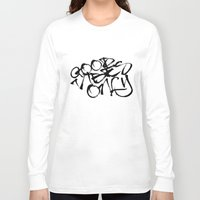 good vibes only Long Sleeve T-shirts featuring Good Vibes Only by Glenda J.
