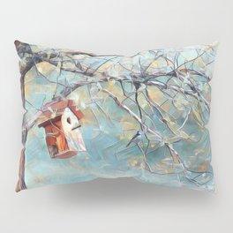 A Chickadees Home Pillow Sham