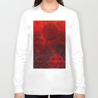 moulin rouge Long Sleeve T-shirts featuring Soleil rouge by Joe Ganech