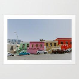 Road to Bo-Kaap Art Print