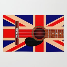Union Jack Guitar Rug
