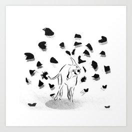 Shake it off! Art Print