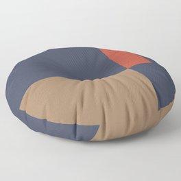 Contemporary Composition 29 Floor Pillow