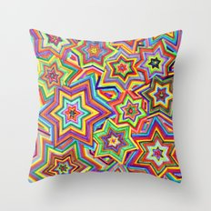 we are the star Throw Pillow